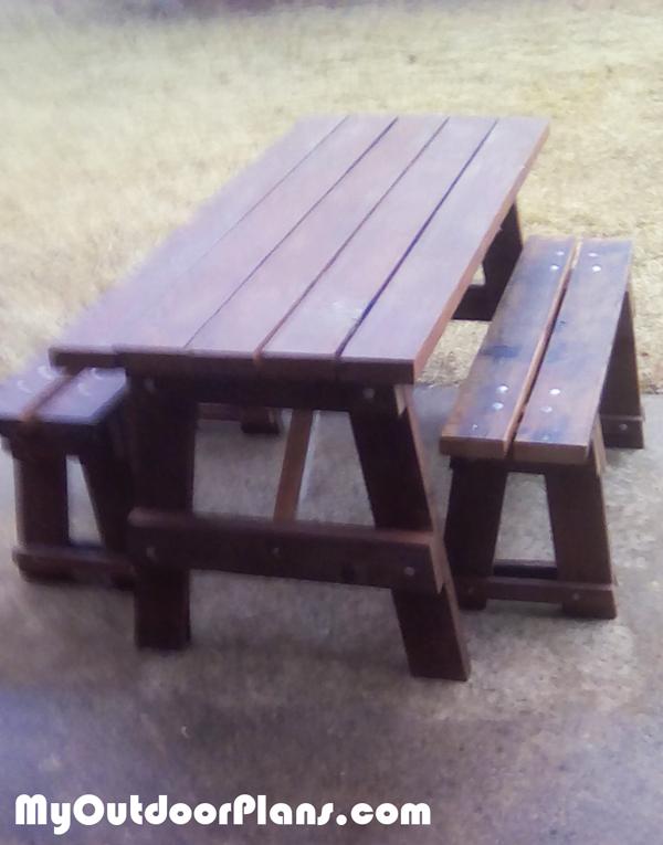 DIY 5' Picnic Table