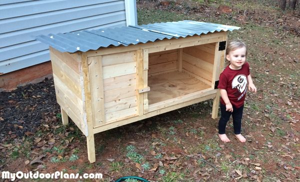 Diy Rabbit Hutch Myoutdoorplans Free Woodworking Plans