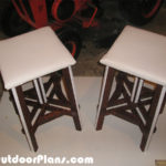 DIY Game Table Stools
