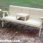 DIY Swing Style Garden Bench