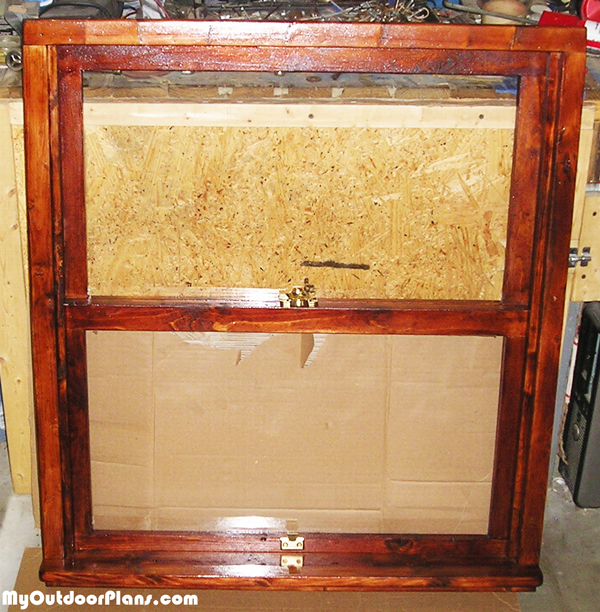 DIY Wood Window