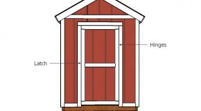 6×12 Shed Door and Trims Plans