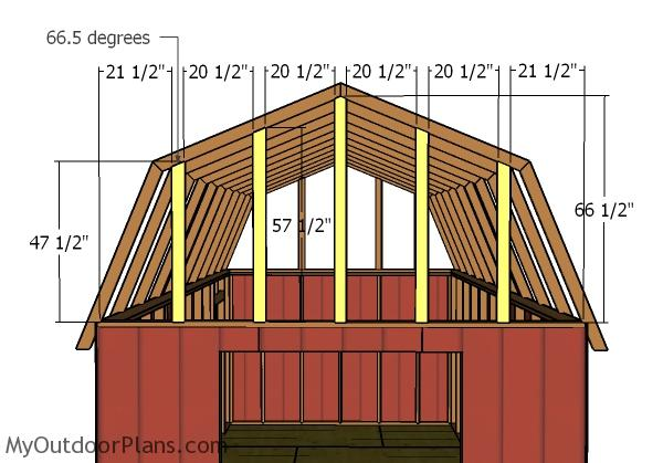 12x20 Gambrel Shed Plans Myoutdoorplans Free