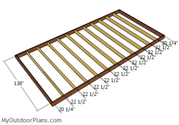 12x24 Shed Plans Myoutdoorplans Free Woodworking Plans