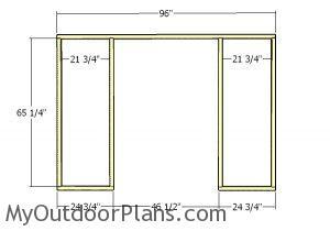 Front porch frame