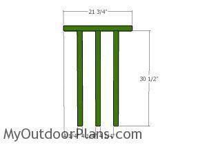 Front railings