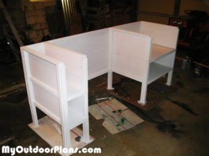 Painting-the-desk
