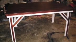 DIY 4×6 Game Table