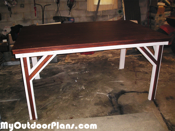 DIY 4x6 Game Table