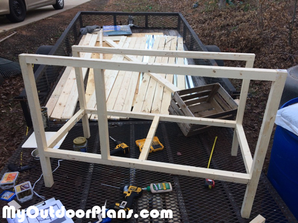 RAbbit-hutch-frame