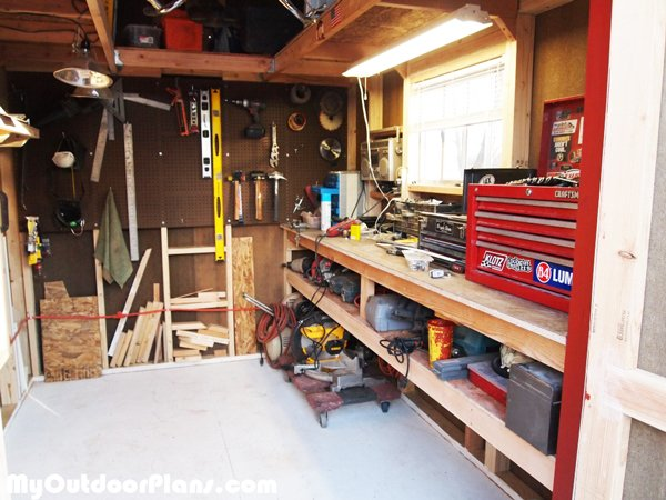 Shed-interior