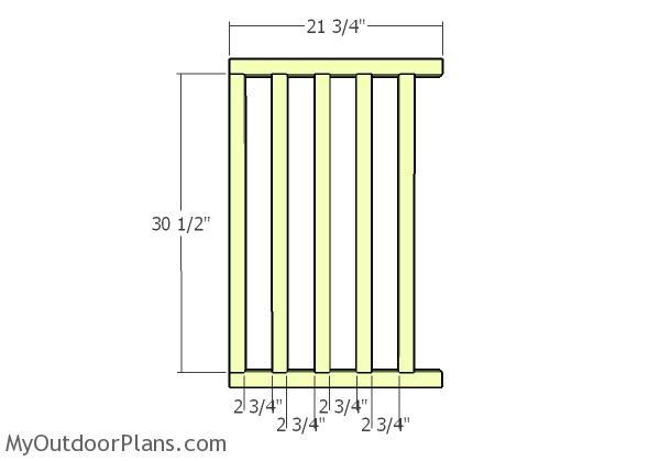 Side railings