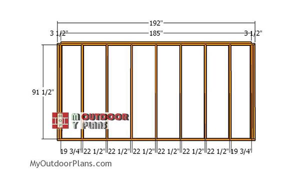 Side-wall-frame