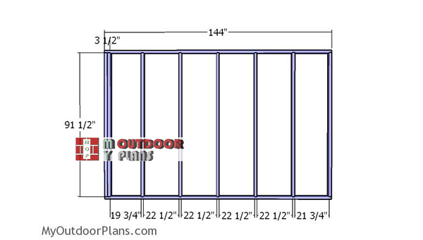 Side-wall-partition