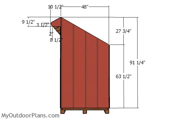 Side walls - Sding
