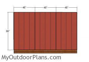 Side walls - siding