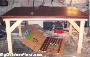 Staining-the-table