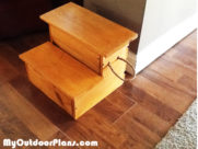 DIY Storage Step Stool