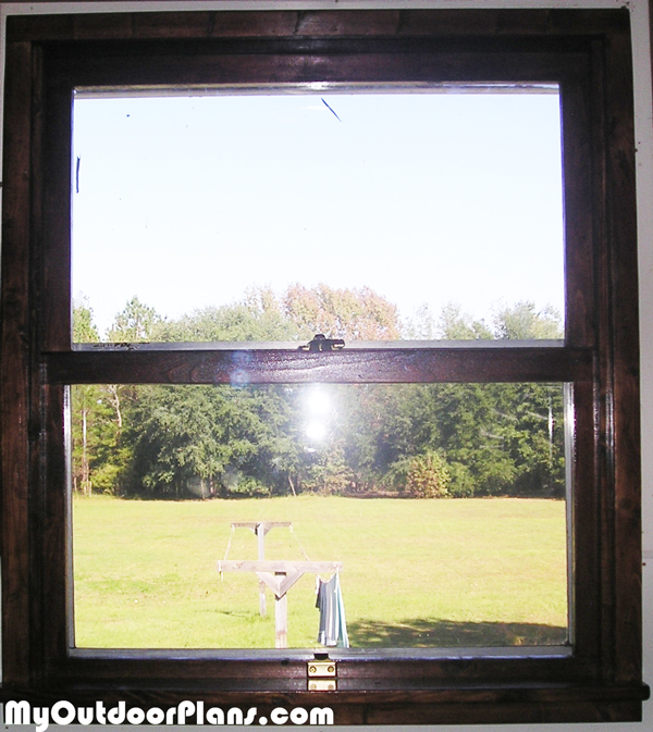 Wood-window