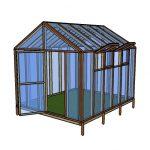 10×12 Greenhouse Plans