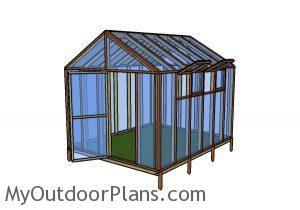 10x12 Greenhouse Plans