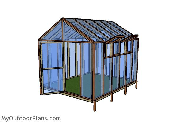 10x12 Greenhouse Plans