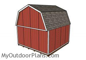 16x16 Barn Shed Plans
