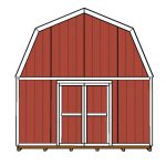 16×16 Barn Shed Doors Plans