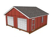 24×24 Shed Plans