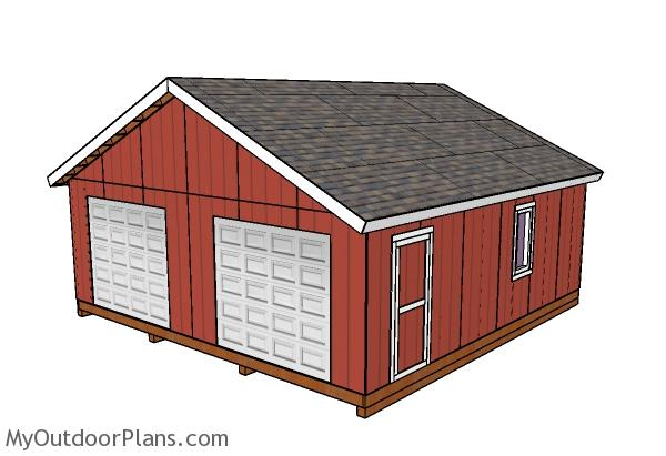 24x24 Shed Plans