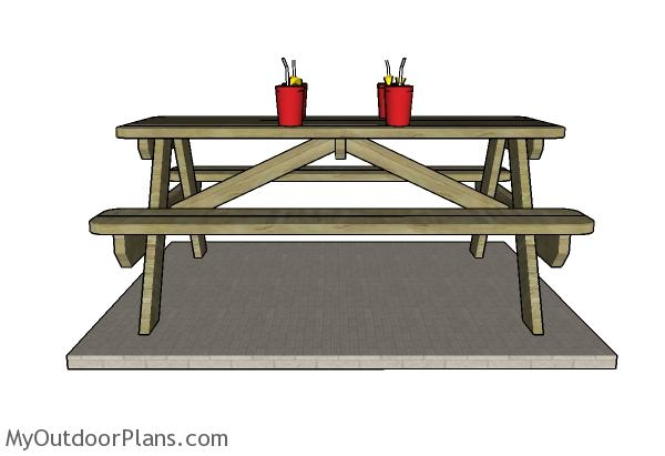6 Picnic Table