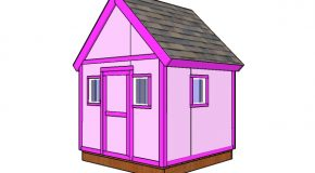 6×6 Simple Playhouse Plans