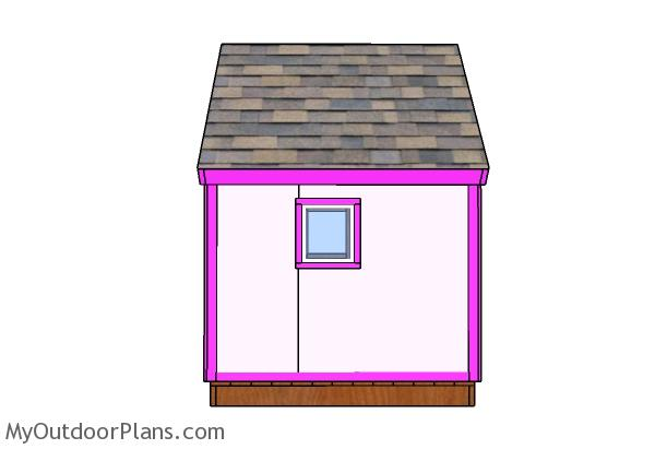 Simple Playhouse Trims Plans