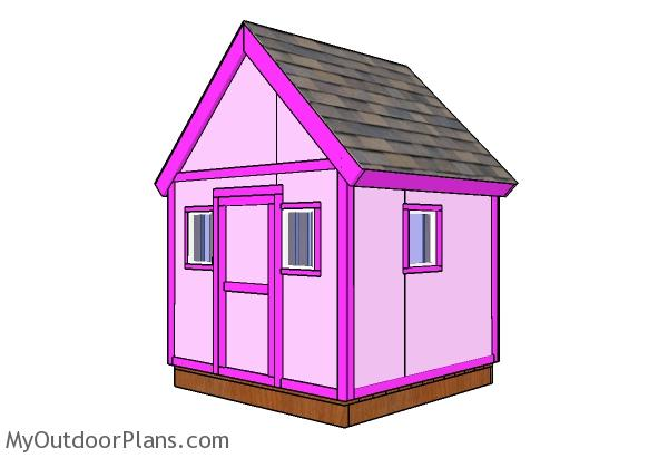 6x6 Simple Playhouse Plans