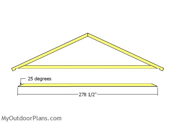 Assembling the truss frame