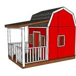 Barn Playhouse Plans