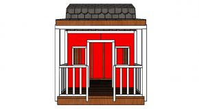 Barn Playhouse Railings