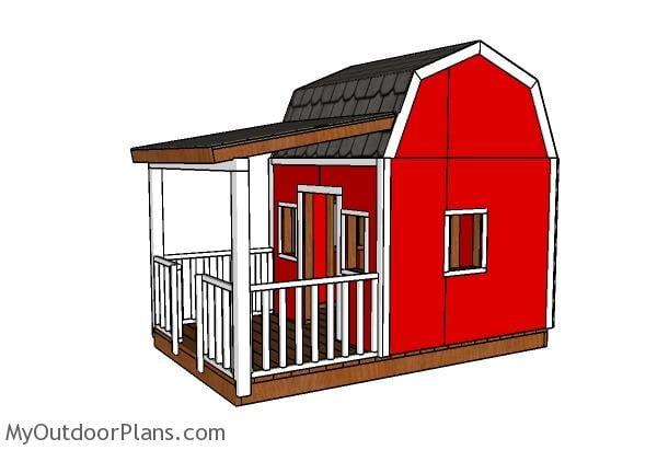 Barn Playhouse Plans