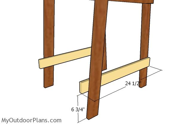 Bottom supports