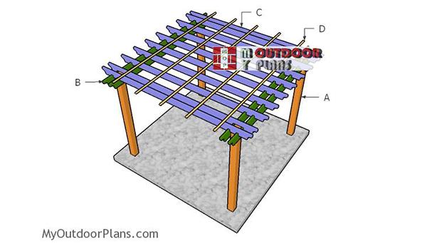 Building-a-10x10-pergola
