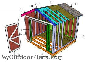 Building a 10x10 shed