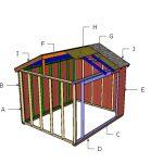 10×12 Animal Shelter Roof Plans