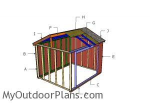 Building a 10x12 field shelter