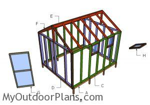 Building a 10x12 greenhouse