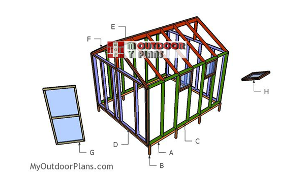 Building-a-10x12-greenhouse