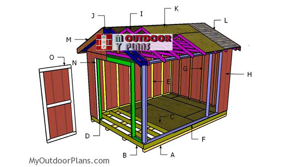 Building-a-10x14-gable-shed