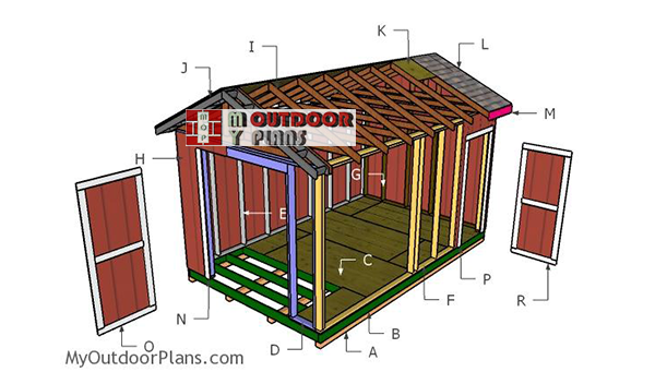 Building-a-10x16-shed-gable-roof