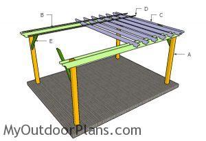 Building a 12x16 pergola