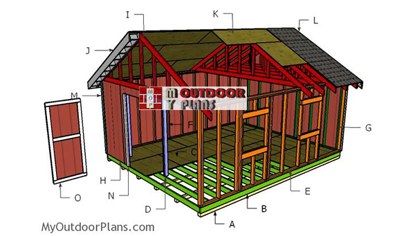 Building-a-16x20-shed