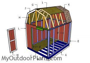 Building a 8x10 barn